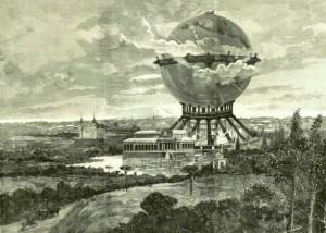 4. Proyecto de Alberto de Palacio en su ubicación de  Madrid. Fuente - La Ilustración Española y Americana