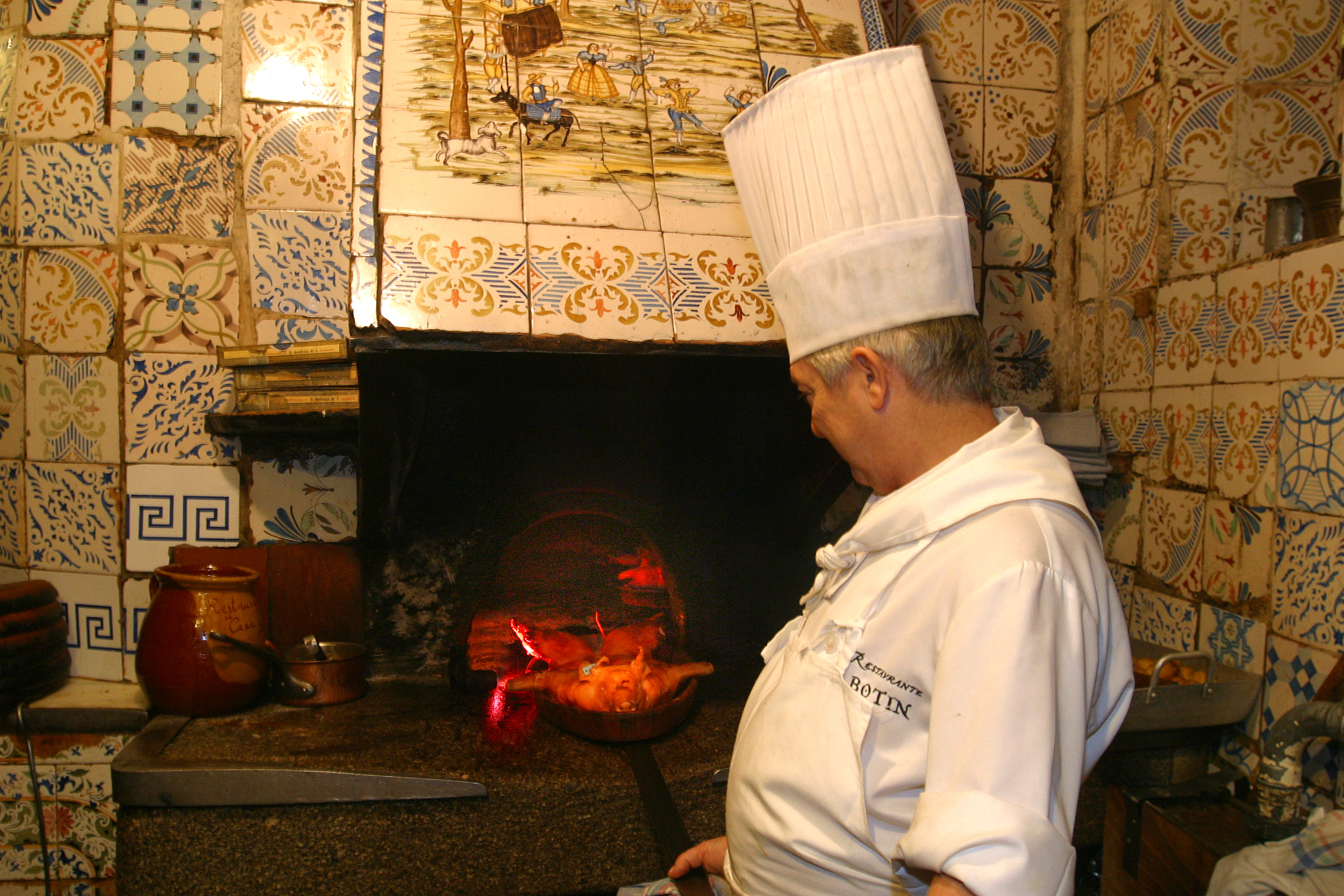 Antiguo horno de asar castellano