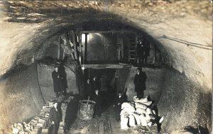 2. Túnel en la Gta. de Bilbao hacia Sol, Febrero 1918. Fondos propios.