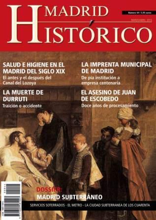 Número 44 - MADRID SUBTERRÁNEO
