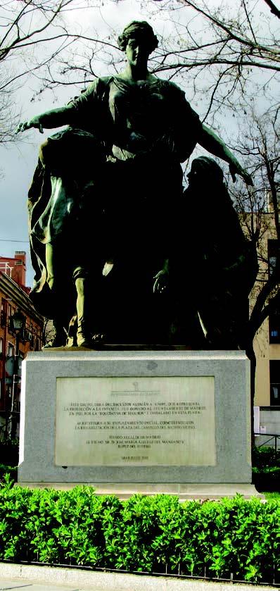 historia de una estatua