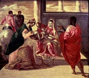 El Greco - Adoración de los Reyes, Museo Lázaro Galdiano