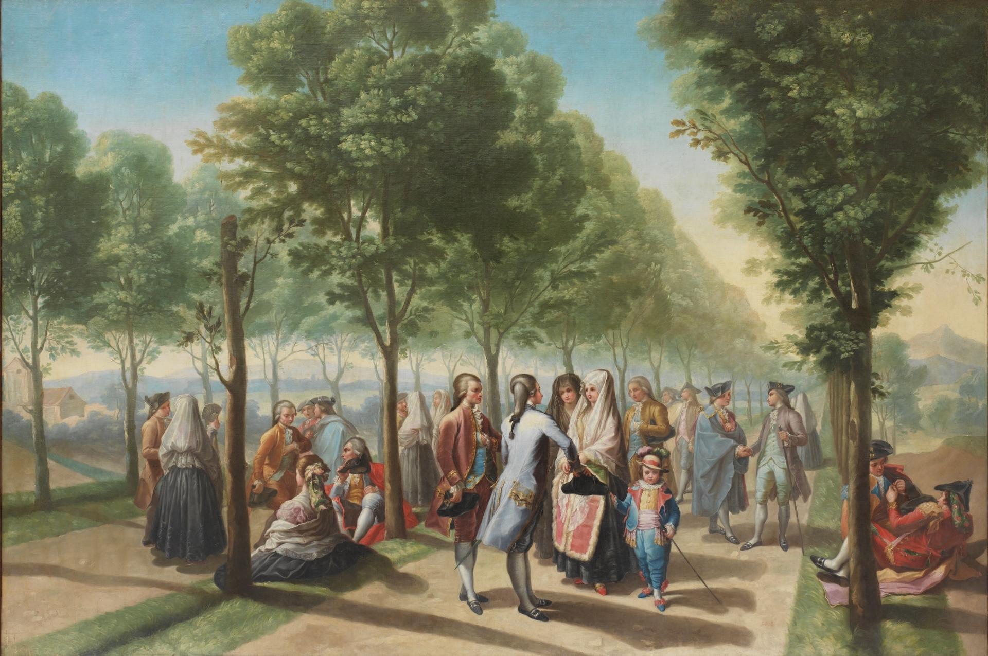 La tonadilla y tonadilleras en el Madrid de la Ilustración
