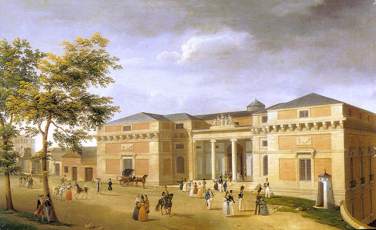 El Madrid dibujado de Fernando Brambilla (1795-1833)