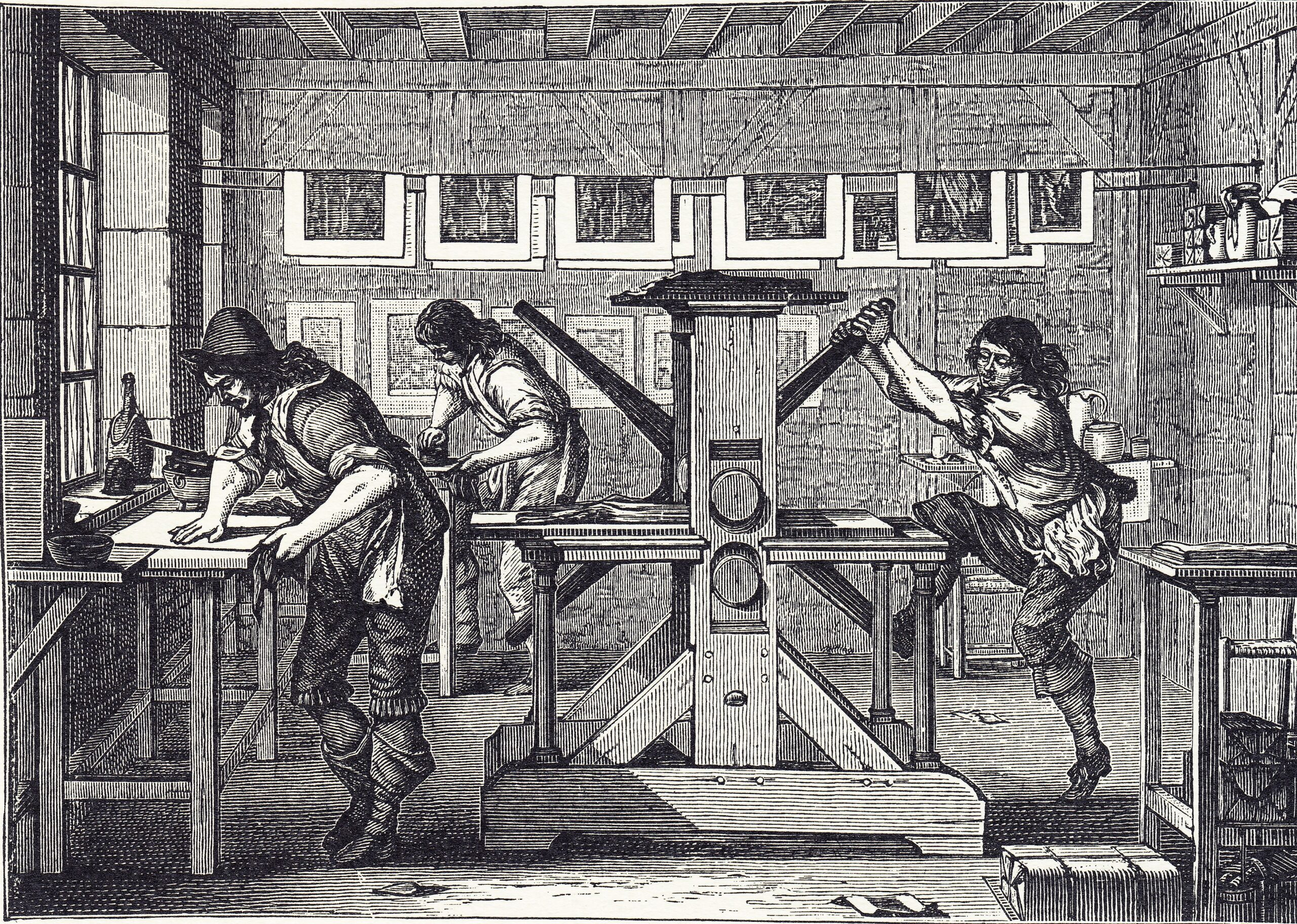 Artesanos del libro: Impresores y Editores