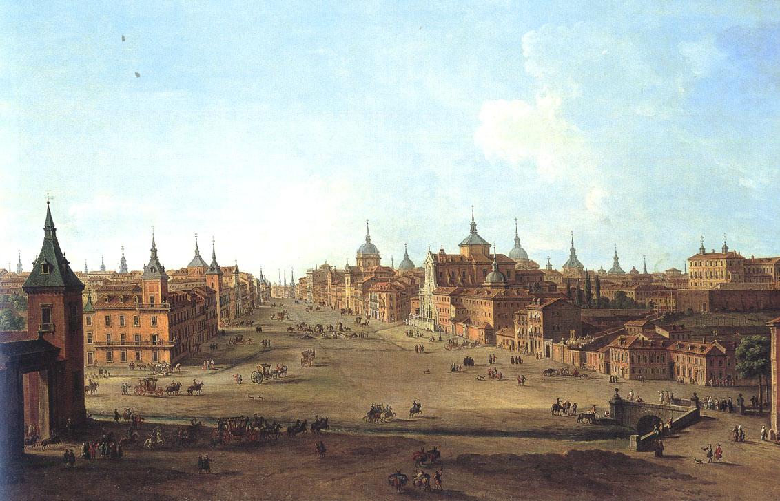 El arroyo de la Castellana: Origen del paseo del Prado, Recoletos y la Castellana