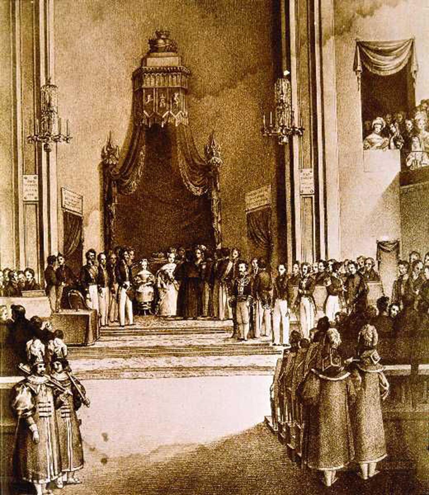 Constituciones españolas desde 1812 a 1978